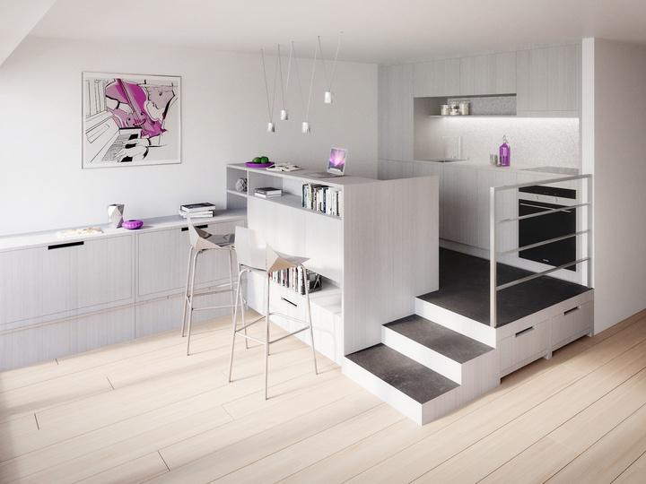 Multimöbel für Appartments