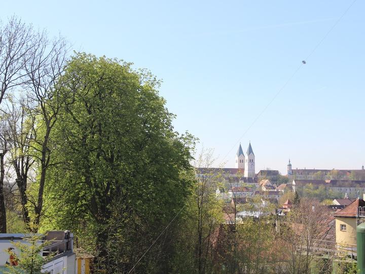 Ausblick auf Freising