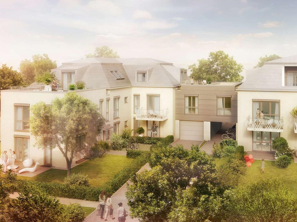 Architektur unserer Eigentumswohnungen in Kirchtrudering