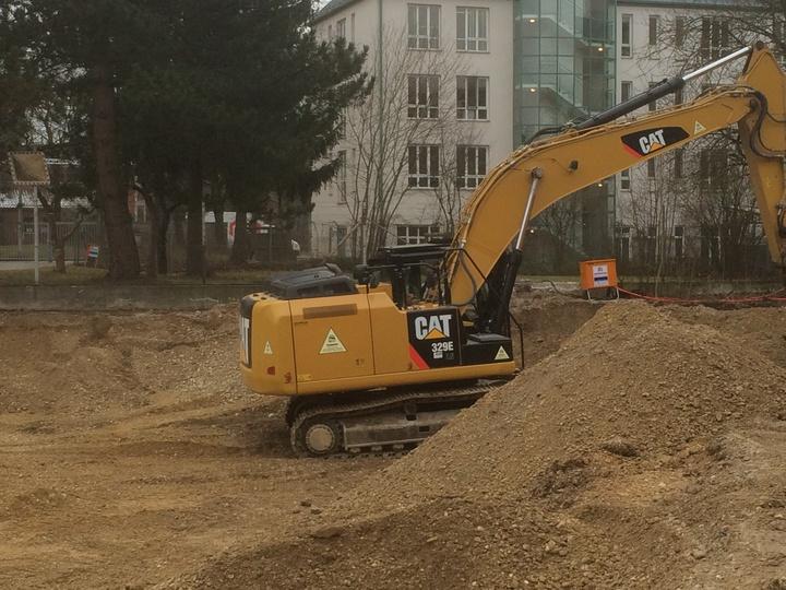 Baubeginn Thalkirchen