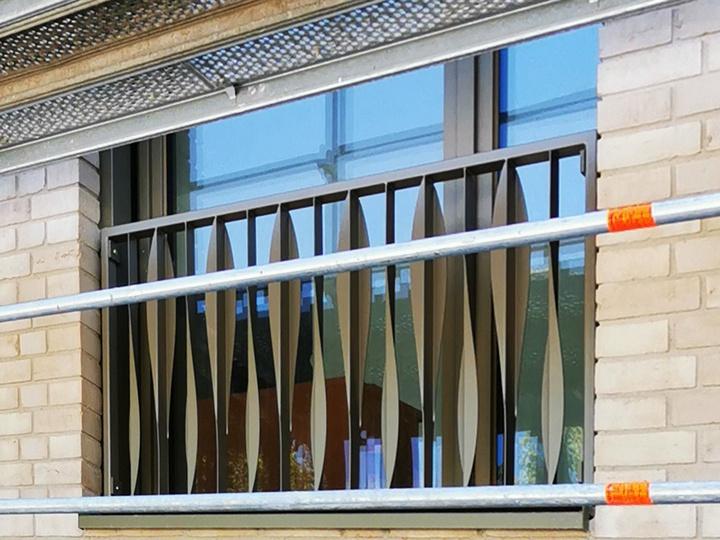 Balkone in Haar