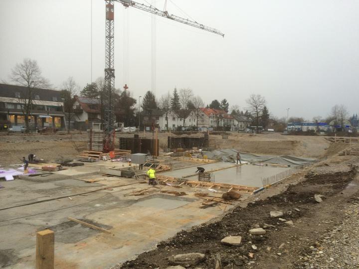 Baubeginn Trudering